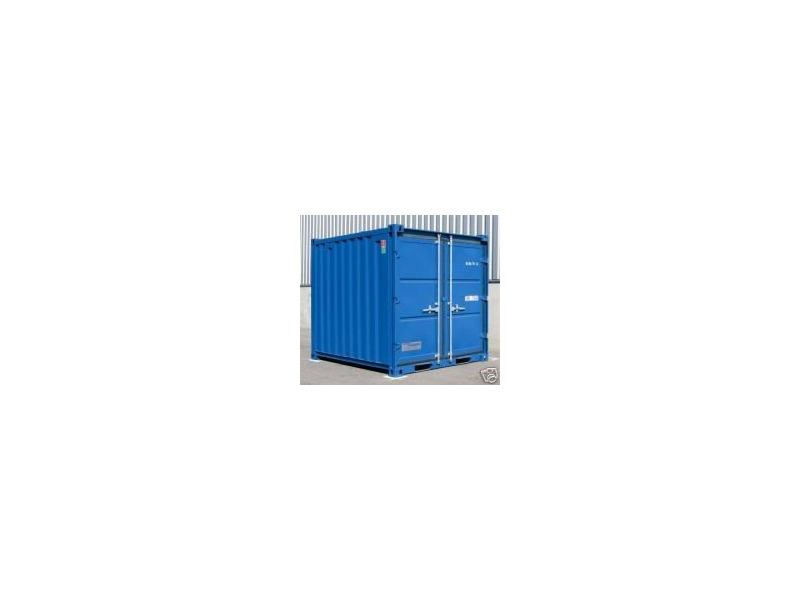 SHIPPING CONTAINERS 10ft steel store CX10 Newport click to zoom image