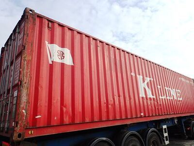 SHIPPING CONTAINERS 40ft original 45297 click to zoom image