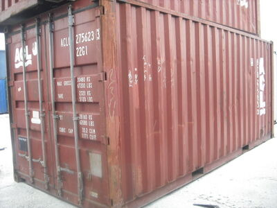 SHIPPING CONTAINERS 20ft original 16407