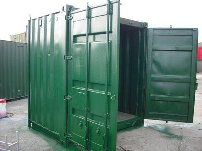 SHIPPING CONTAINERS 6ft S2 doors