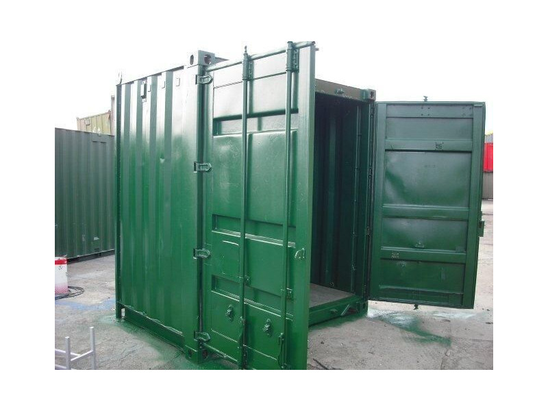 SHIPPING CONTAINERS 6ft S2 doors 16403 click to zoom image