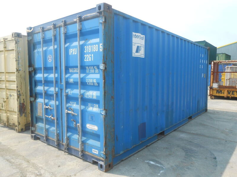 SHIPPING CONTAINERS 20ft original 16109 click to zoom image