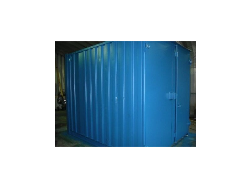 SHIPPING CONTAINERS 10ft S1 doors 31641 click to zoom image