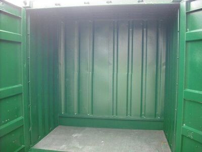 SHIPPING CONTAINERS 6ft original S2 doors