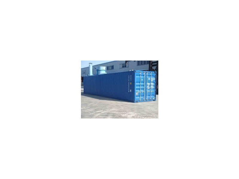 SHIPPING CONTAINERS 40ft ISO blue 16625 click to zoom image