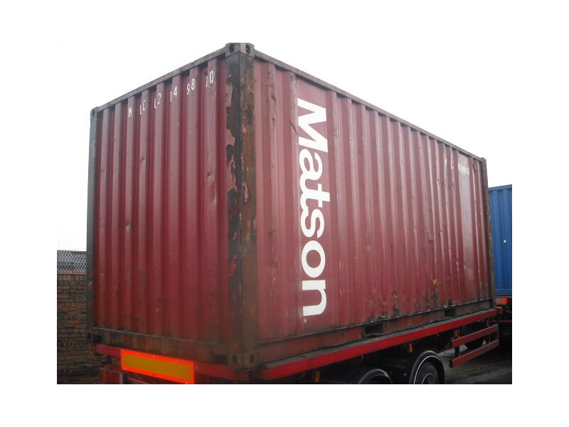 SHIPPING CONTAINERS 20ft original 42809 click to zoom image