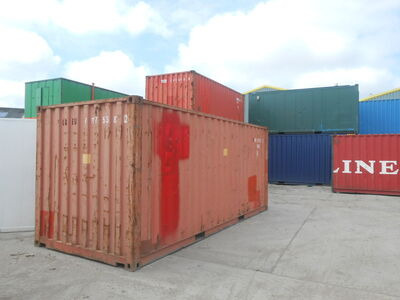 SHIPPING CONTAINERS 20ft S2 doors 24803