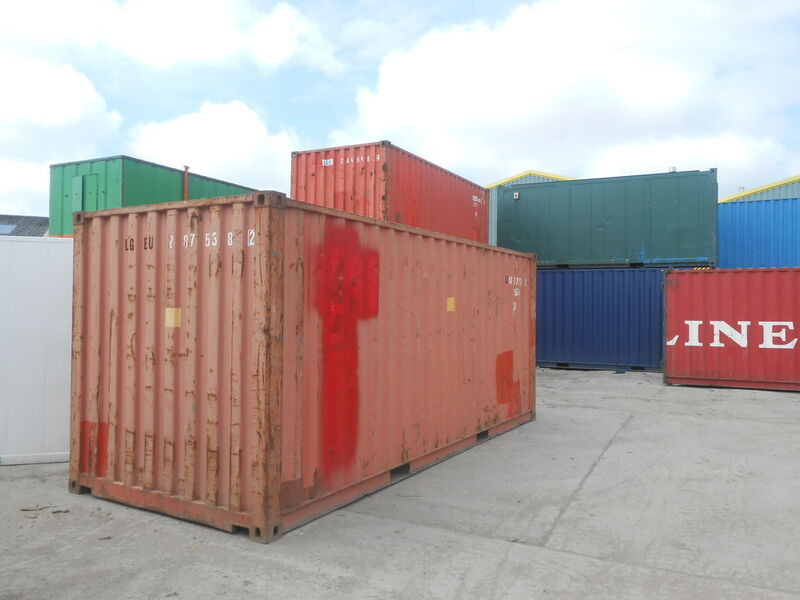 SHIPPING CONTAINERS 20ft S2 doors 37908 click to zoom image