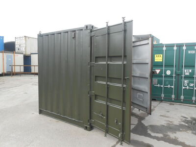 SHIPPING CONTAINERS 8ft S2 doors 23429