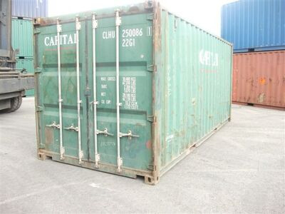 SHIPPING CONTAINERS 20ft S2 60058