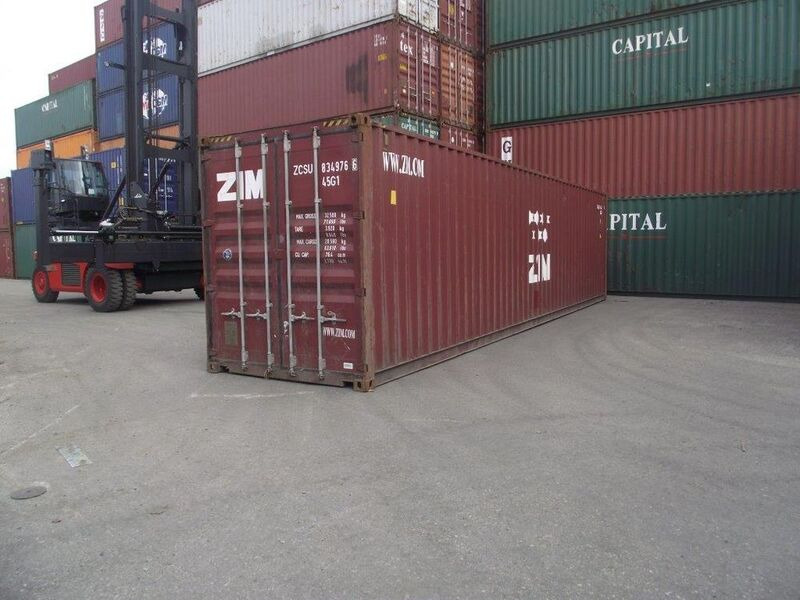 SHIPPING CONTAINERS 40ft original 38713 click to zoom image