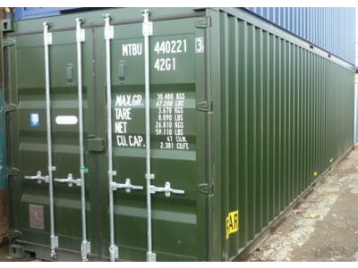 SHIPPING CONTAINERS 40ft original 30083