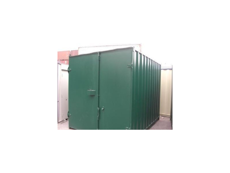 SHIPPING CONTAINERS 10ft S1 doors 67531 click to zoom image