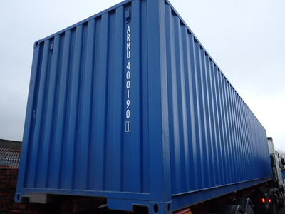 SHIPPING CONTAINERS 40ft ISO 30080 click to zoom image