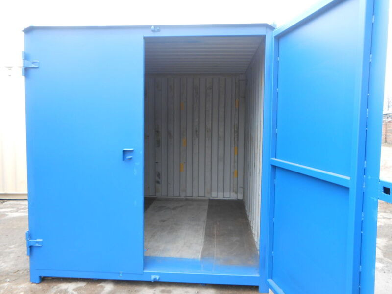 SHIPPING CONTAINERS 12ft S1 doors 29819 click to zoom image