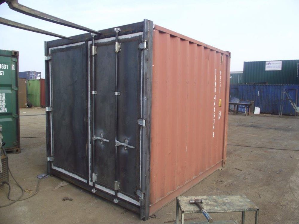 Shipping containers 10ft s3 doors 30179 5ft for Small doors for sale