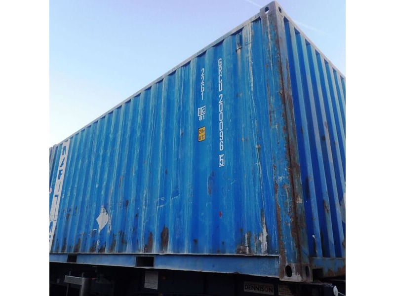 SHIPPING CONTAINERS 20ft original 66763 click to zoom image