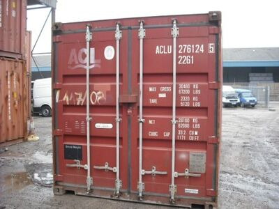 SHIPPING CONTAINERS 40ft original 43846