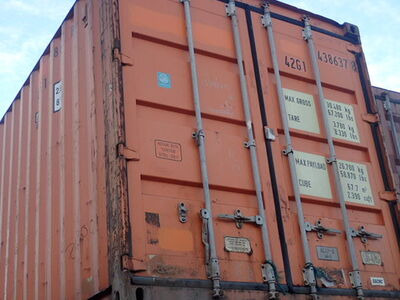 SHIPPING CONTAINERS 40ft original 35203