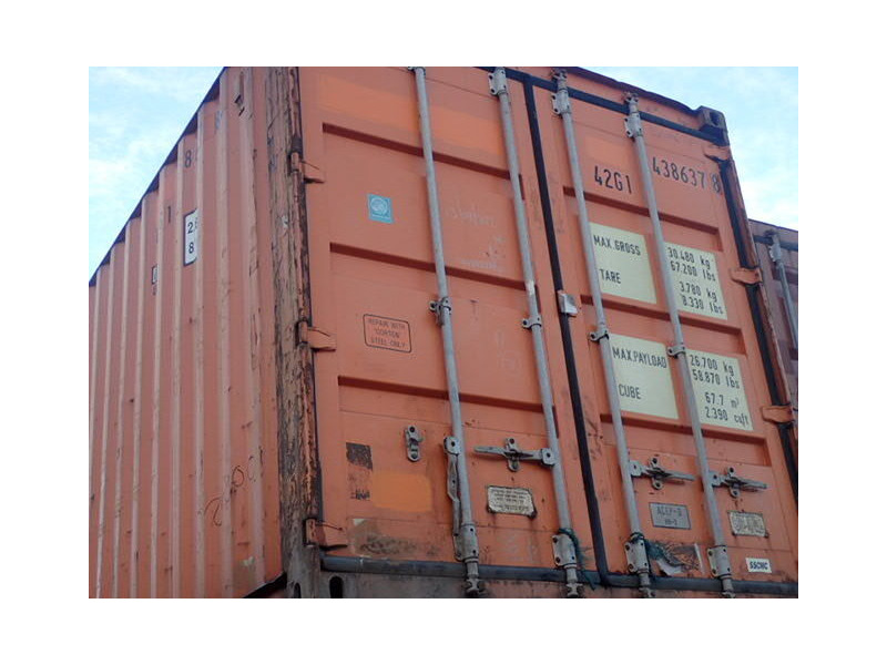 SHIPPING CONTAINERS 40ft original 35203 click to zoom image
