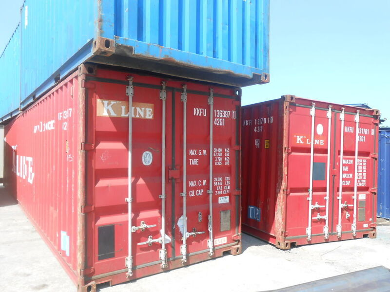 SHIPPING CONTAINERS 40ft original 23261 click to zoom image