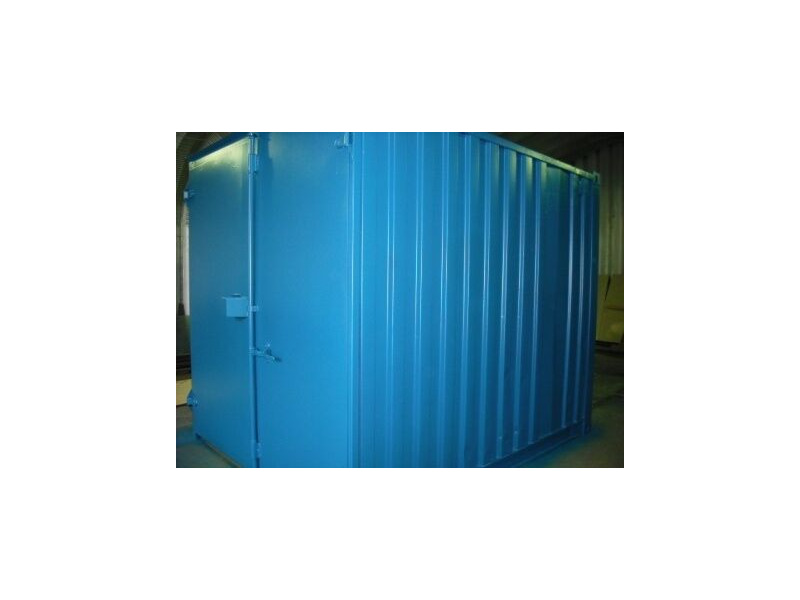 SHIPPING CONTAINERS 10ft S1 doors 20371 click to zoom image