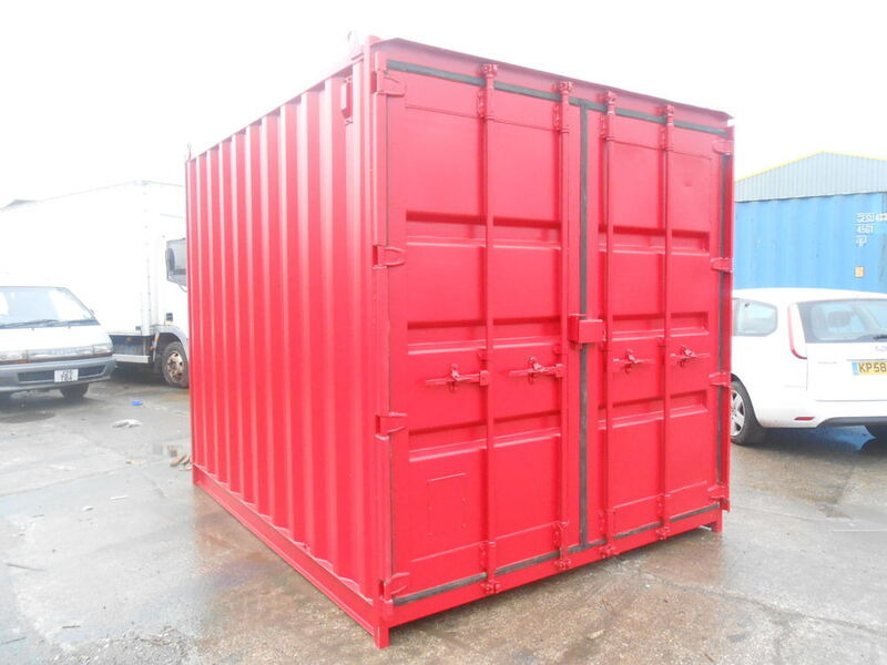 SHIPPING CONTAINERS 10ft high cube 65806 click to zoom image