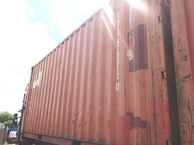 SHIPPING CONTAINERS 20ft original doors 44116