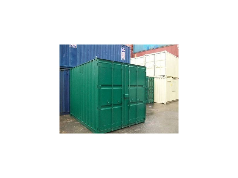 SHIPPING CONTAINERS 10ft S2 doors 44701 click to zoom image