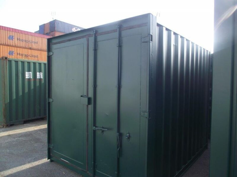 10ft Used Shipping Containers 10ft - S3 doors click to zoom image