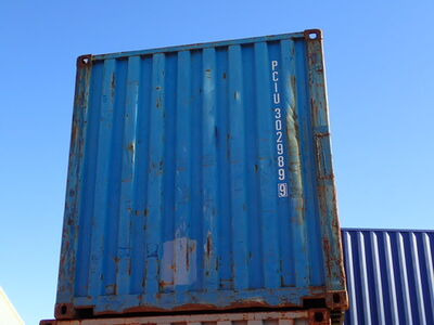 SHIPPING CONTAINERS 20ft ISO PCIU3029899
