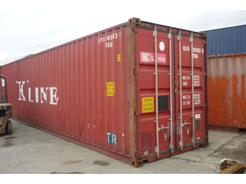 SHIPPING CONTAINERS 40ft original high cube 20337 click to zoom image
