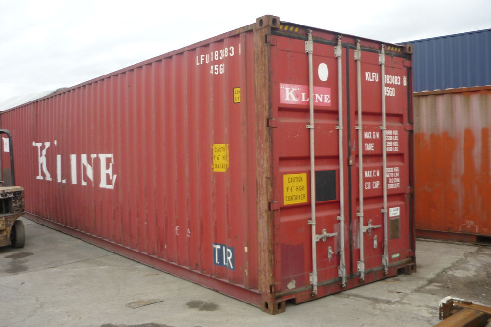 40ft Shipping Container >> Shipping Containers 40ft Original High Cube 65413 1755 00 31ft