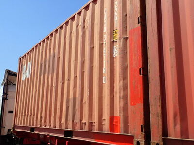 SHIPPING CONTAINERS 20ft S2 doors red CAXU3147180