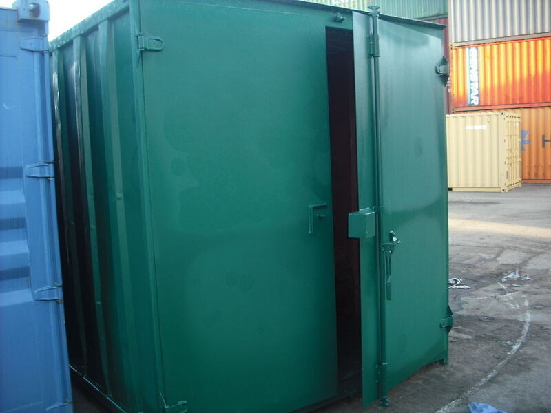 SHIPPING CONTAINERS 10ft original doors 19151 click to zoom image