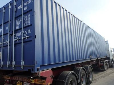 SHIPPING CONTAINERS 40ft ISO 44875 click to zoom image