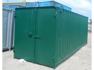 SHIPPING CONTAINERS 20ft S1 doors 24904