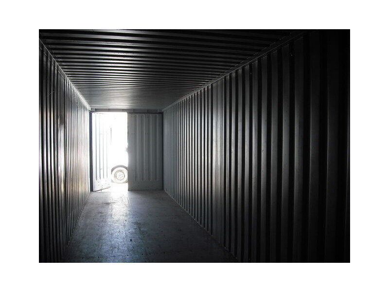 SHIPPING CONTAINERS 40ft high cube S1 doors 65410 click to zoom image