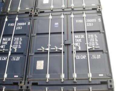 SHIPPING CONTAINERS ISO 20ft 61356