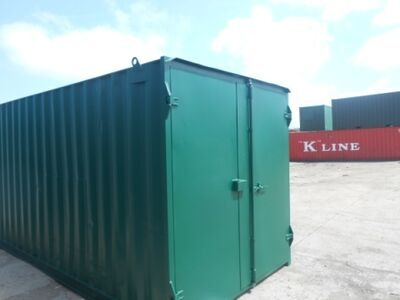 SHIPPING CONTAINERS 20ft high cube S1 doors 63638