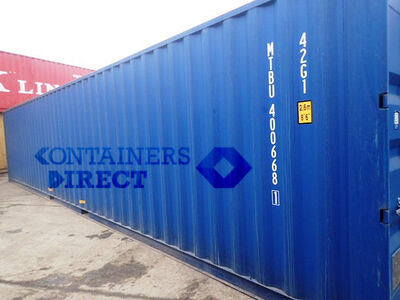 SHIPPING CONTAINERS 40ft ISO 44879 click to zoom image