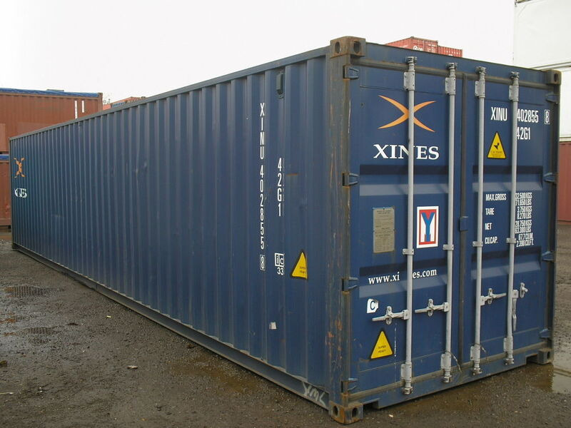 SHIPPING CONTAINERS 40ft original 21421 click to zoom image
