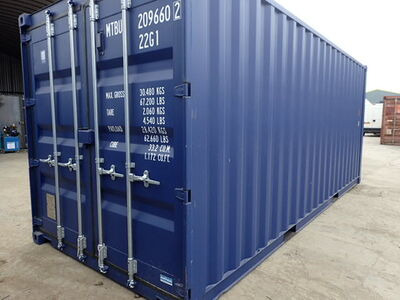 SHIPPING CONTAINERS 20ft ISO 24938