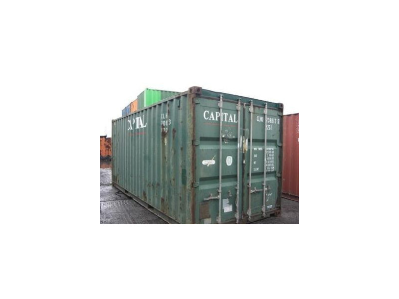 SHIPPING CONTAINERS 20ft original 46148 click to zoom image