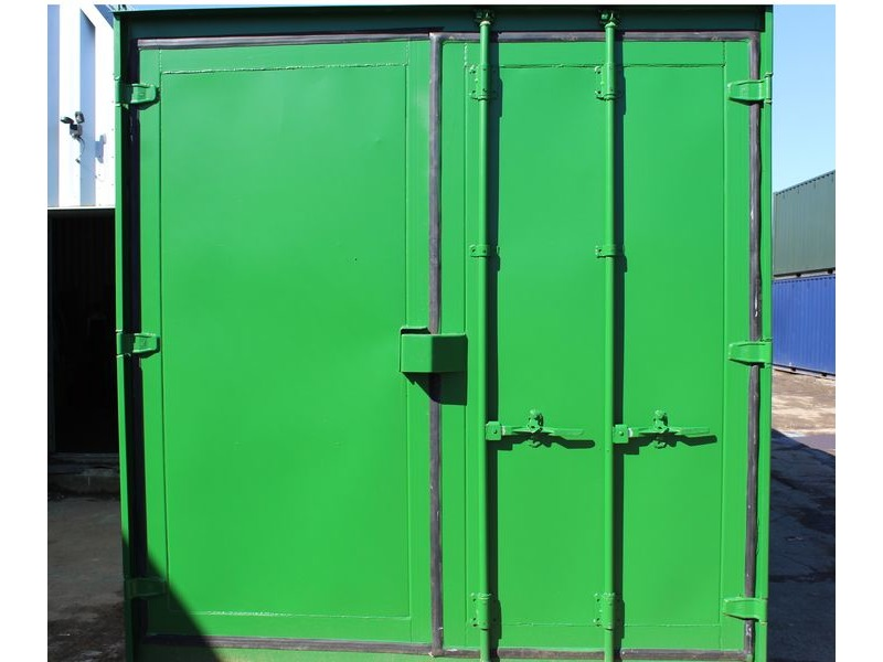 SHIPPING CONTAINERS 10ft S3 doors click to zoom image