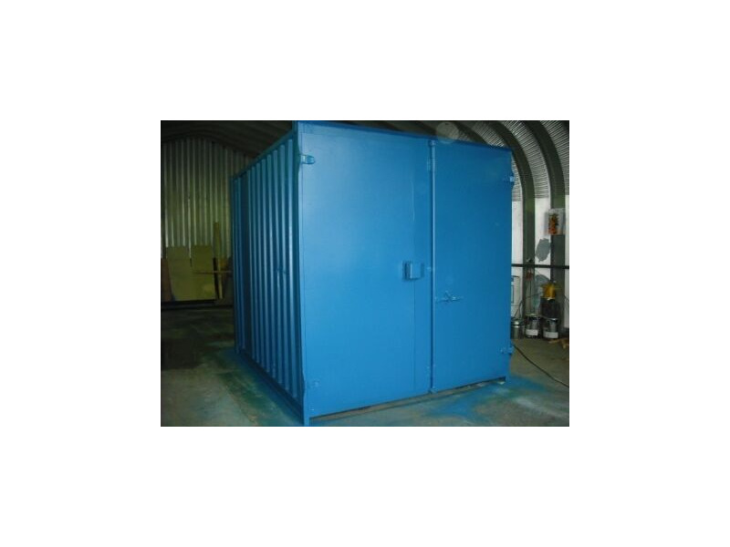 SHIPPING CONTAINERS 10ft S1 doors 46096 click to zoom image
