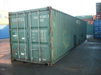 SHIPPING CONTAINERS 40ft original 63301