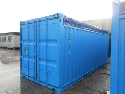SHIPPING CONTAINERS 20ft Open Top 63616 click to zoom image