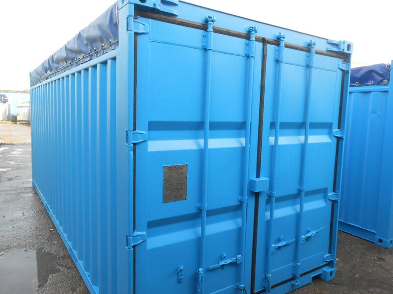 SHIPPING CONTAINERS 20ft Open Top 63636 click to zoom image