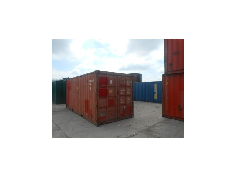 SHIPPING CONTAINERS 20ft original doors 63618 click to zoom image